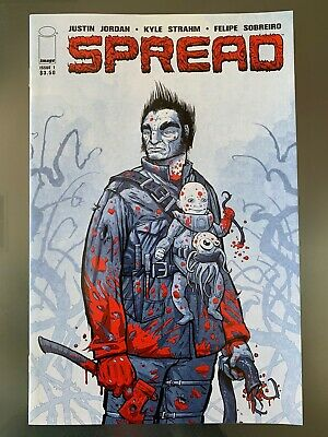 SPREAD #1 PHANTOM VARIANT Image Comic 1st FIRST Print SOLD OUT Near Mint to NM+