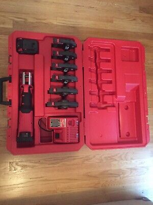 "Milwaukee M18 FORCE LOGIC Press Tool Kit with 1/2""-2"" Jaws 2773-20 See Details"