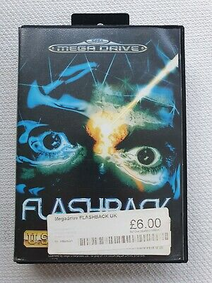 Flashback - SEGA Mega Drive PAL (Poor condition) NO MANUAL