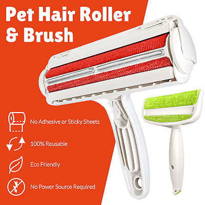 Pet Hair Remover Roller - Self Cleaning Dog & Cat Hair Remover