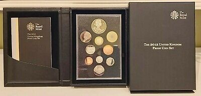 2012 UK Proof Coin Set