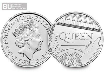 NEW 2020 UK Queen CERTIFIED BU £5 (Brilliant Uncirculated)