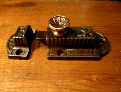 Antique Iron Cupboard Door Latch Hardware Cabinet Catch