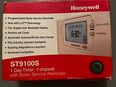 Honeywell ST9100S Programmable Thermostat
