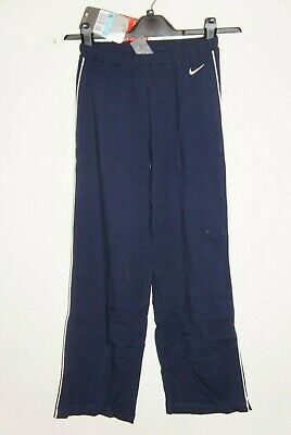 Girl Nike Tracksuit Jogger Pant Dance Bottoms Navy Blue Medium Age 10-12 140-152