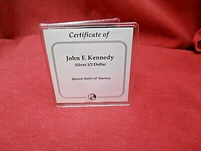 Vintage John F. Kennedy Silver Half Dollar Coin Minted In .900 Pure Silver