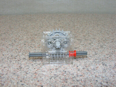 Part# 6588 TRANS-CLEAR TECHNIC GEARBOX 2x4x3-1//3 LEGO 2X Lot of Two
