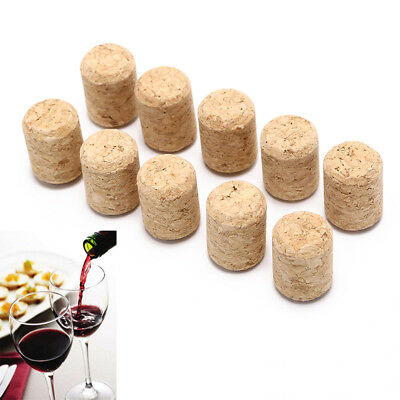 10pcs/lot straight bottle wood corks wine stoppers wine bottle plug stoppe rs