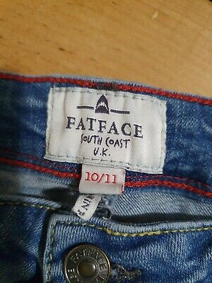 Fat Face Boys skinny jeans age 10/11 - 11/12