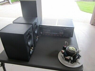 Denon AVR-X2200W Ampifier and speakers