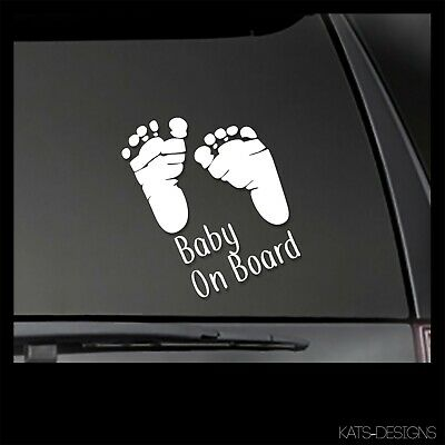 Baby On Board Decal - mom decal, baby safety decal MOM-4