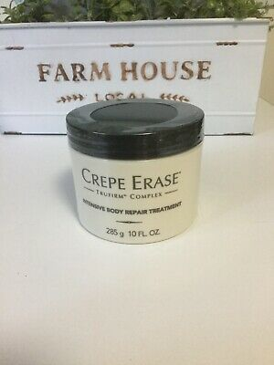 Crepe Erase Intensive Body Repair Treatment 10oz Tub Sealed New Free Ship!