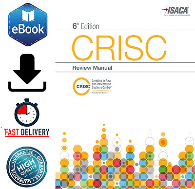 CRISC Review Manual 6th Edition 🔥 PDF Book 🔥 30 Sec Delivery 📥