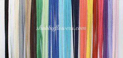 """20 Pack 5 Yards In  Each Color 1/8"""" Thin Stretchy Elastic Skinny Elastic"""