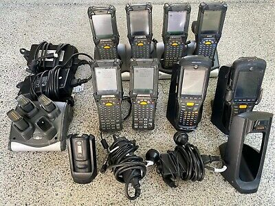 Motorola Symbol 6 X MC9190 2 X MC9596 Barcode 1D Rugged Scanner + Batteries