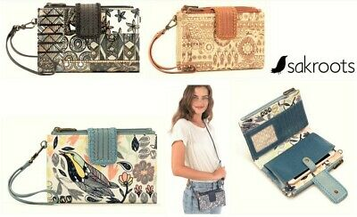 Sakroots Olympic Smartphone crossbody wallet wristlet Sakroots Artist Circle