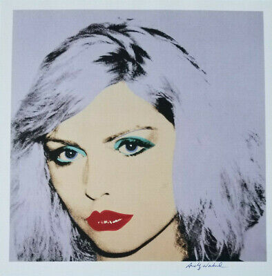 Andy Warhol 1981 Debbie Harry Hand Signed Color Print + No Reserve!