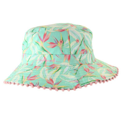 Millymook Baby Girls Bucket - Paradise - Mint