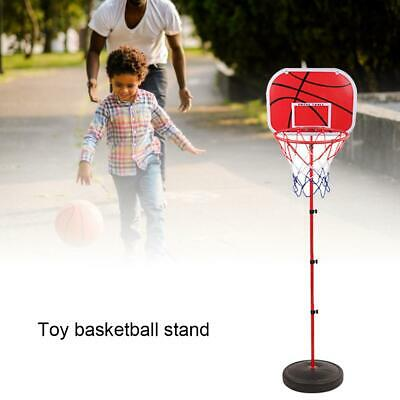 Adjustable Portable Basketball Hoop Stand Indoors Outdoors Children Toy Birthday