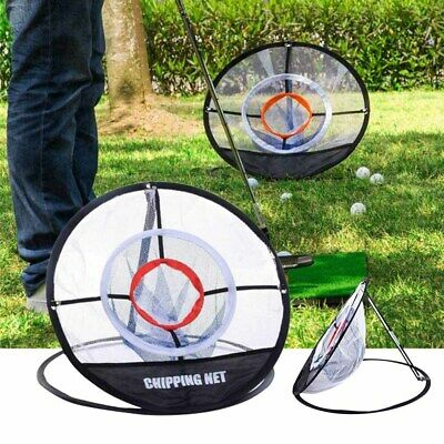 Portable Outdoor Golf Chipping Pop-up Pitching Practice Training Net Aid Net Bag