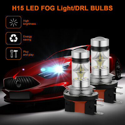 2x H15 LED Daytime Running DRL Ampoule Pour 2013-2014 Volkswagen Jetta LD2262