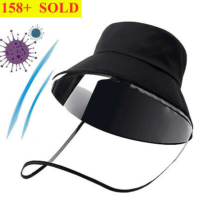 Fisherman Protective Cap Anti-Saliva Uniex Full Face Cover Outdoor Hat Safety