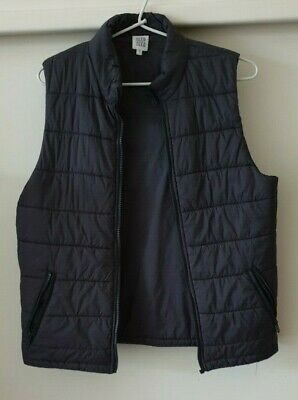 Boys Seed Teen Black Vest Size 14