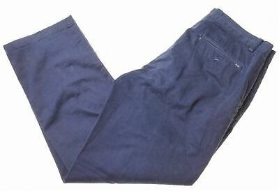 POLO RALPH LAUREN Mens Chino Trousers W32 L30 Blue Cotton Classic Fit  ME03