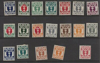{Old 128} Germany Danzig Stamps From A Collection  Lot 4