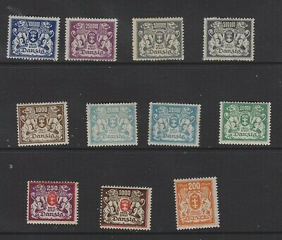{Old 131} Germany Danzig Stamps From A Collection  Lot 7