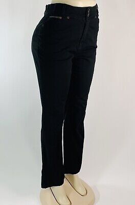 FDJ French Dressing Black Women's size 6 Peggy Bootcut High Waist Jeans Pants