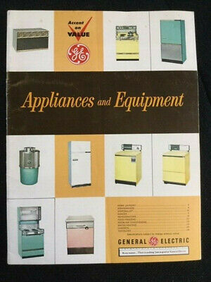 18 Vintage General Electric Historical Documents 1950s and 1960s - see notes