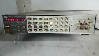 Hp 3456A Digital Voltmeter