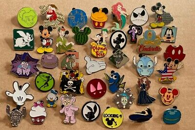 Disney Pin Lot 25 LE LR HM CE No Duplicates Trading Pins