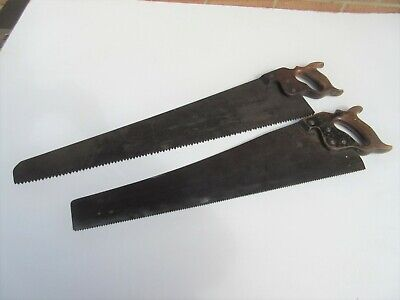 2 vintage carpenters saws - Mowbray & one other