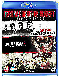Terrace Tear Up - Rise Of The Footsoldier / Green Street 2 / Cass (Blu-ray,...