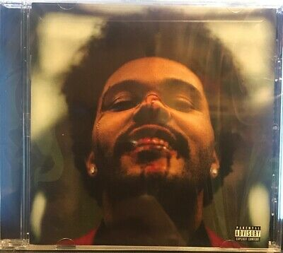 The Weeknd After Hours CD Album 2020 Physical SEALED BRAND NEW