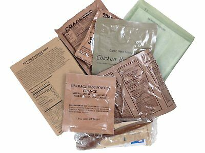 Sopakco Sure Pak US MRE Meals Ready-to-Eat Military Emergency Food 6-Pack
