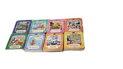 Mickey Mouse Clubhouse Small Thick Board Books for Children & Kids  lot of 8