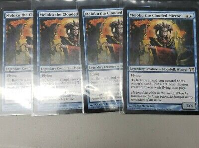MTG 4X ** MELOKU THE CLOUDED MIRROR ** X4 Champions