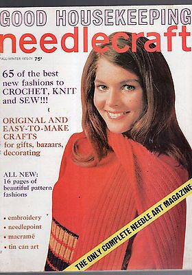 Fall/Winter 1970-71Good Housekeeping Needlecraft Magazine-65 Best New Fashions