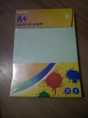 250 Sheets A4 Assorted Coloured Paper 80gsm