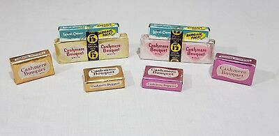 Vintage Cashmere Bouquet Soaps with Special Bargain Pack