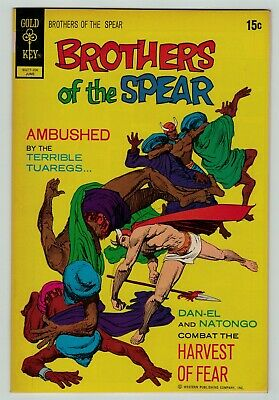 Brothers of the Spear 1 2 3 4 5 6 7 8 9 10 LOT of 10 bronze age Gold Key Comics