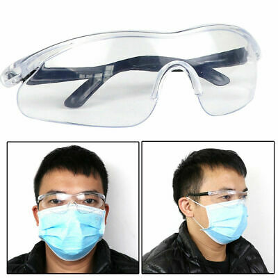 Anti-impact Factory Lab Outdoor Work Safety Eye Protective Goggles Glasses