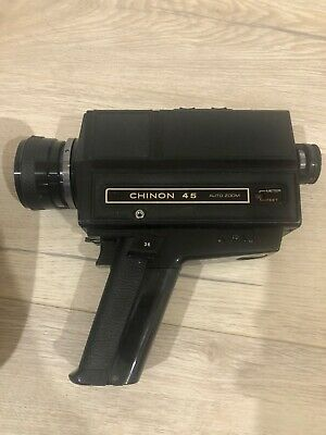Chinon 45 Vintage Camcorder And Case