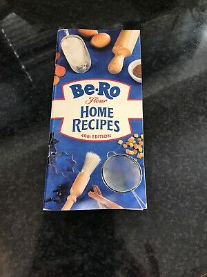 Vintage Be-Ro Flour Home Recipes Booklet 40th edition preowned