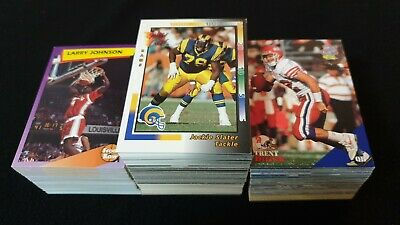 USA College Sports Trading Cards Bulk x 390+