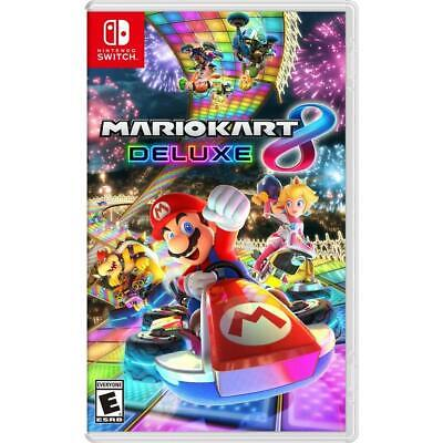 Mario Kart 8 Deluxe Nintendo Switch Brand New Sealed