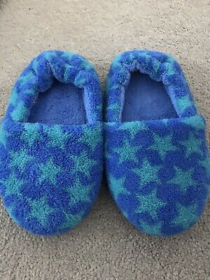 New Marks And Spencer M&S Boys Star Slipper Size 8
